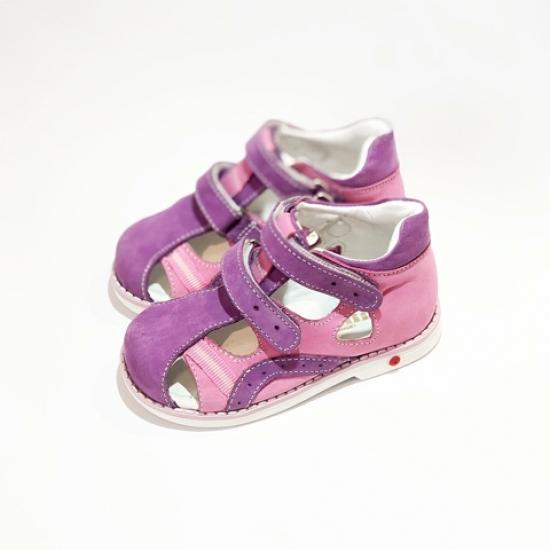 Сандалии детские розовые для девочек