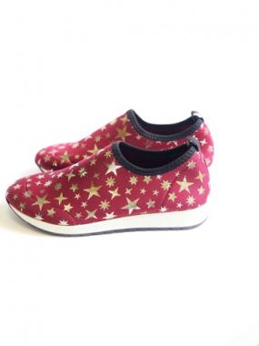 Кроссовки детские Pinini для девочек, верх ткань, кожаная стелька