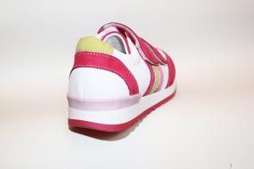 Кроссовки детские Pinini для девочек натуральная кожа, розовые